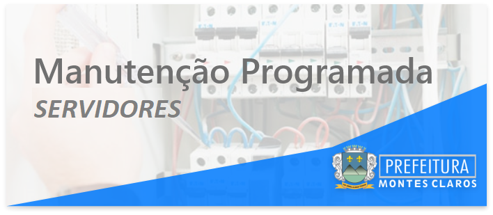 Imagem de destaque Manutenção Programada - 12/01/2021