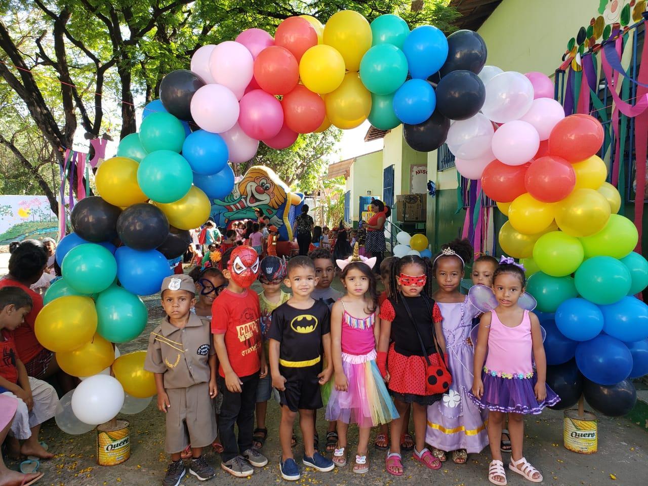 Imagem de destaque SEMANA DA CRIANÇA - Cemei Alegria de Viver encerra programação com festa à fantasia