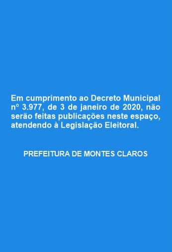 Imagem do mini banner Decreto 3977 2020