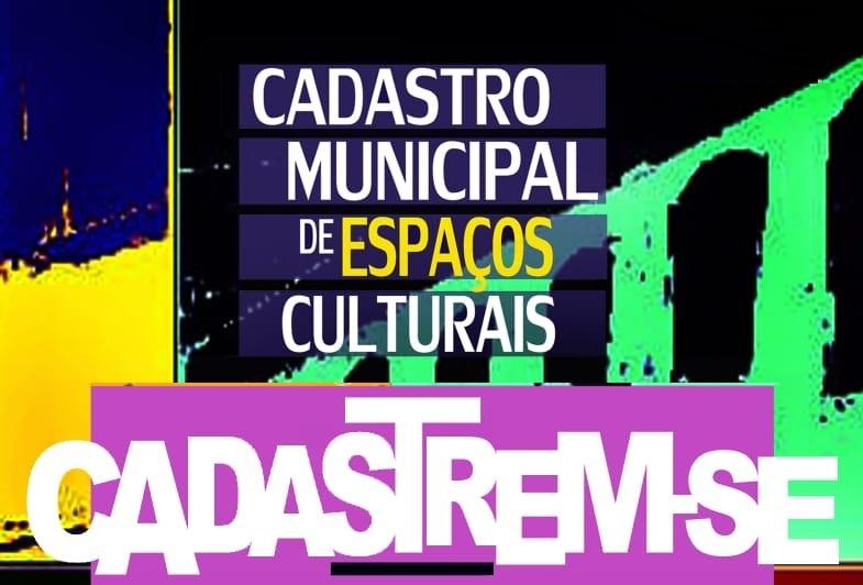 Banner CADASTRO MUNICIPAL DE ESPAÇOS CULTURAIS DE MONTES CLAROS - MG