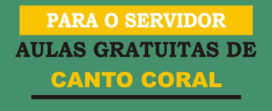 Imagem de destaque AULAS GRATUITAS DE CANTO CORAL