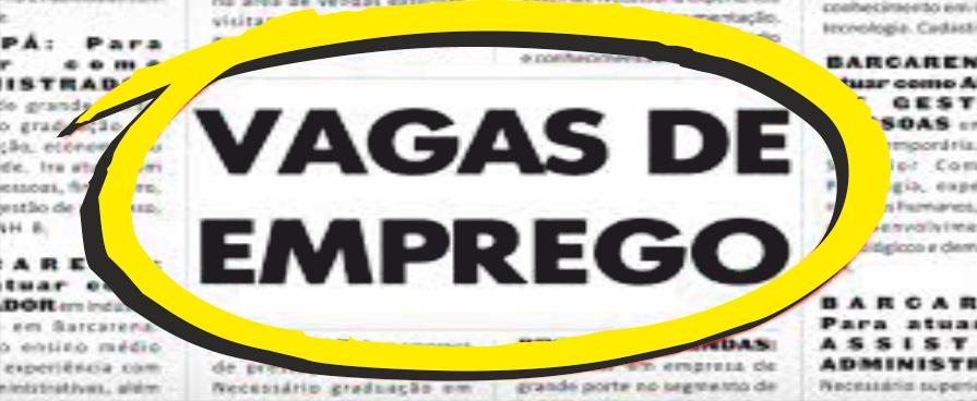 Imagem de destaque VAGAS DE EMPREGO DESTA SEXTA-FEIRA
