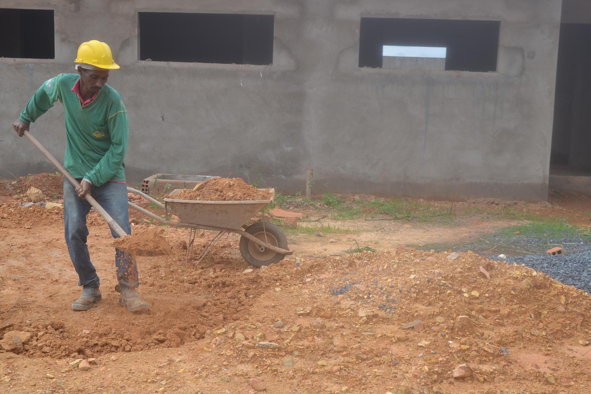 Imagem de destaque Avançam as obras no CEMEI do bairro Santa Lúcia