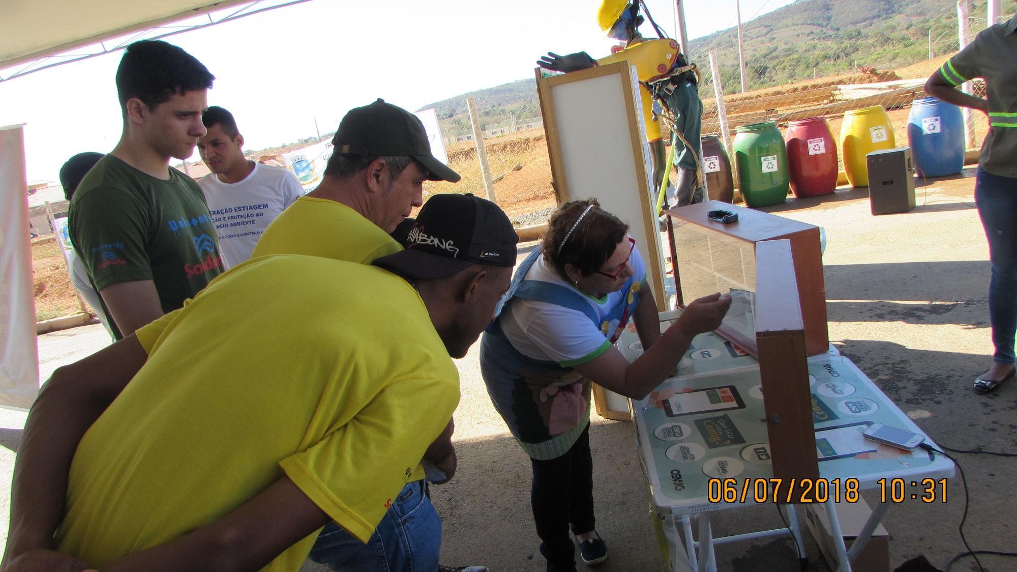 Imagem de destaque OPERAÇÃO ESTIAGEM  - Residencial Sul é beneficiado com ações de educação ambiental
