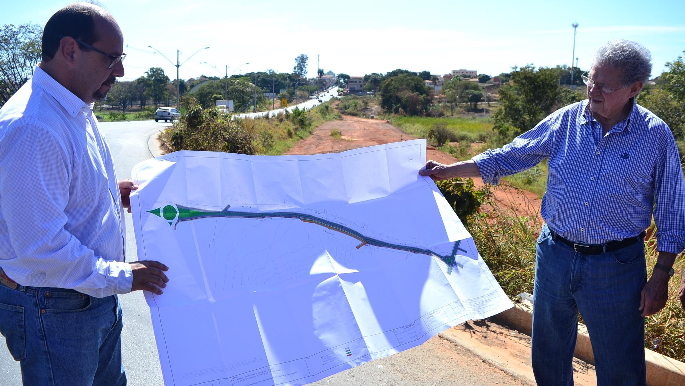 Imagem de destaque Prefeitura retoma as obras de duplicação da avenida Francisco Gaetani