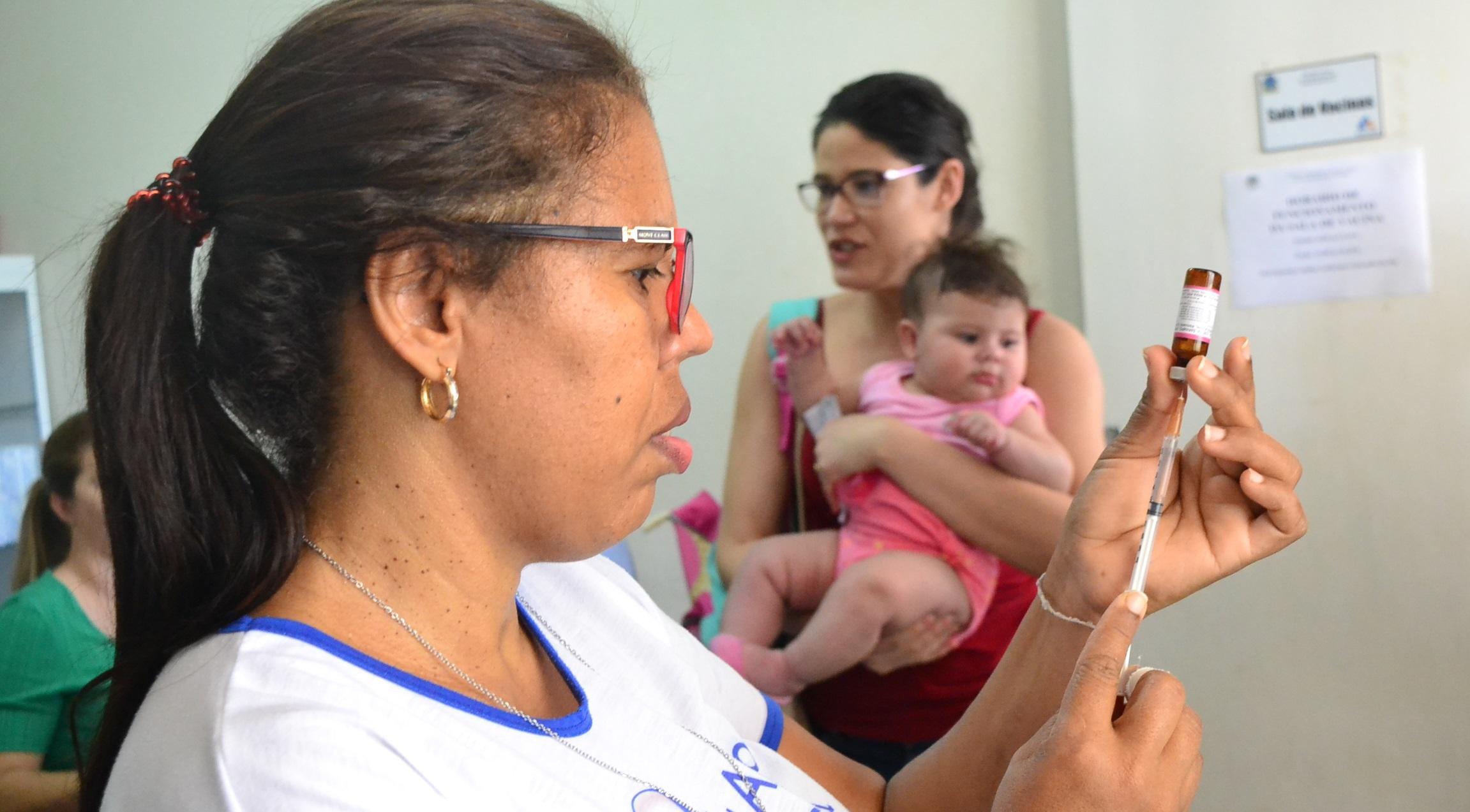 Imagem de destaque Campanha de Vacinação contra a Paralisia Infantil e o Sarampo -  Secretaria Estadual de Saúde recomenda que a vacina contra o sarampo só seja apl