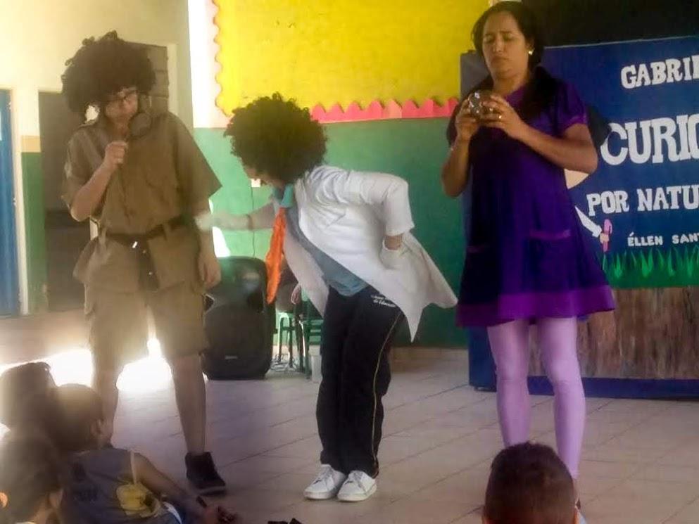 Imagem de destaque Trilha da Leitura apresenta peça teatral em escolas do campo