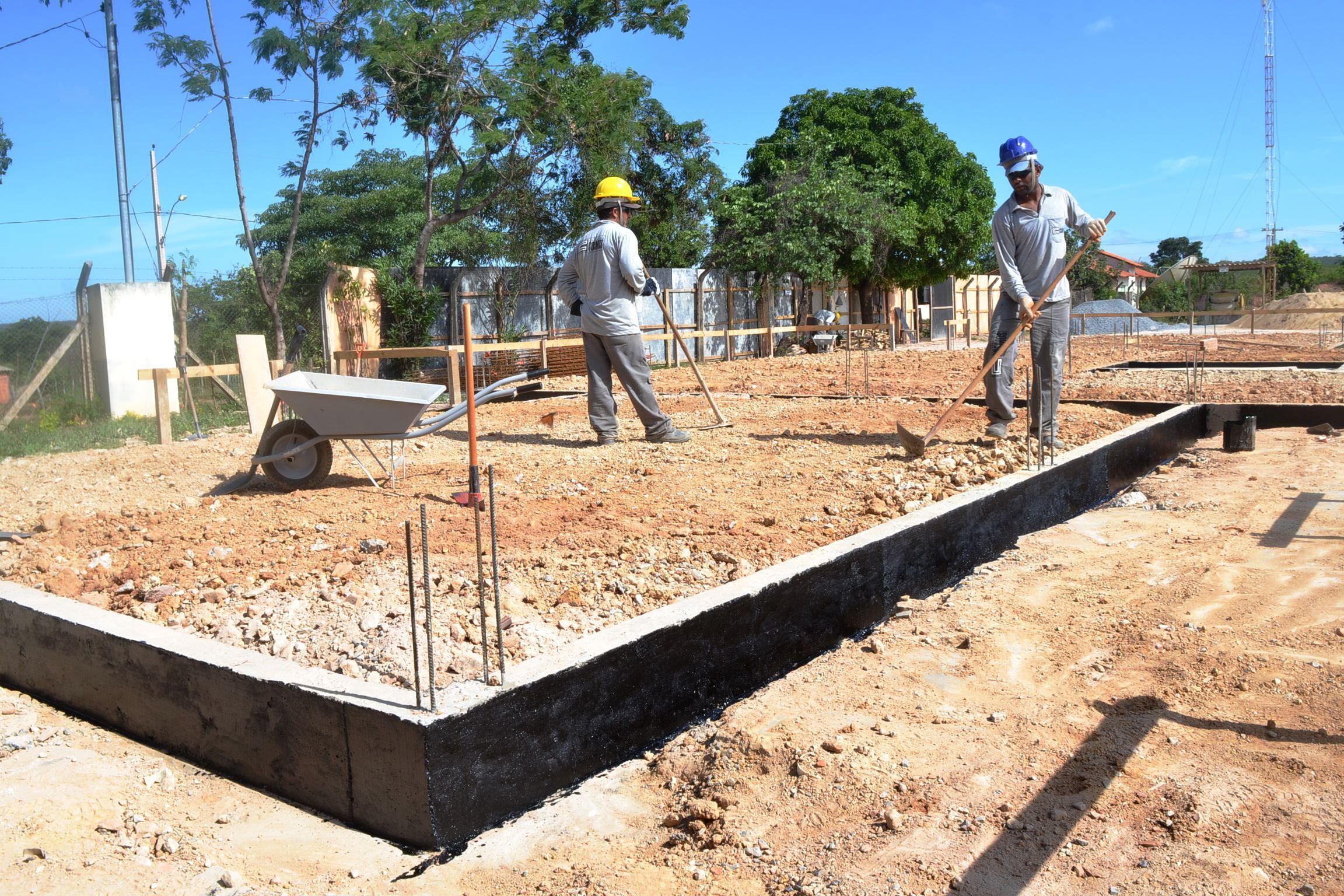 Imagem de destaque Zona Rural - Obras avançam na escola municipal de Pedra Preta