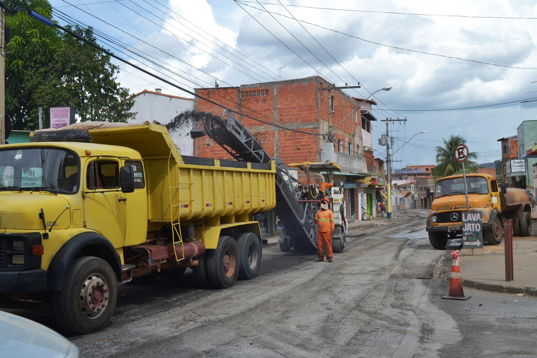 Imagem de destaque Prefeitura faz recapeamento da Leonel Beirão de Jesus