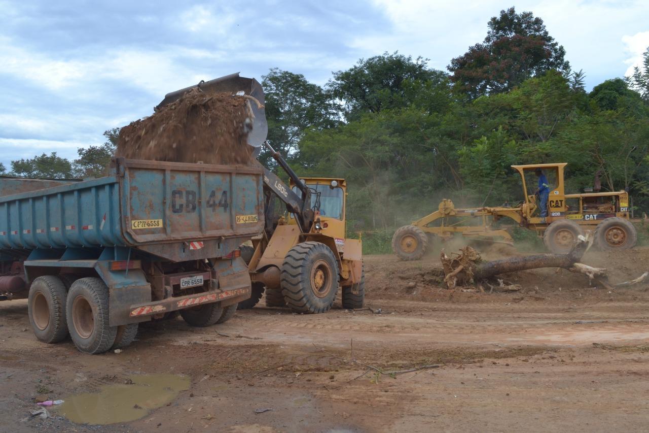 Imagem de destaque Começam as obras de construção do Córrego Bicano