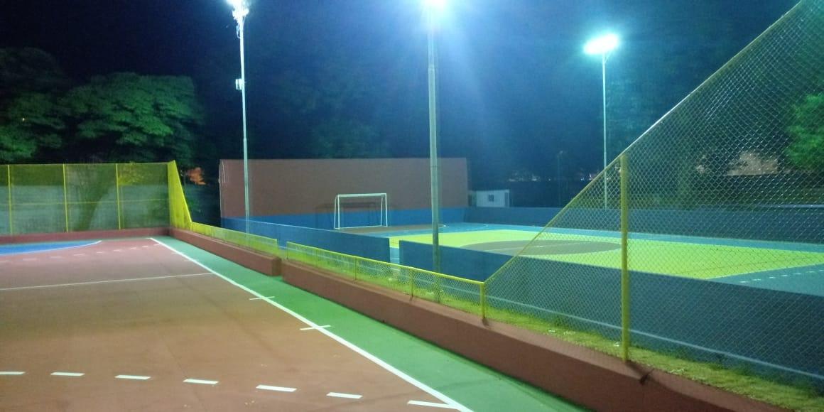 Imagem de destaque Obras de revitalização da Praça de Esportes seguem em ritmo acelerado