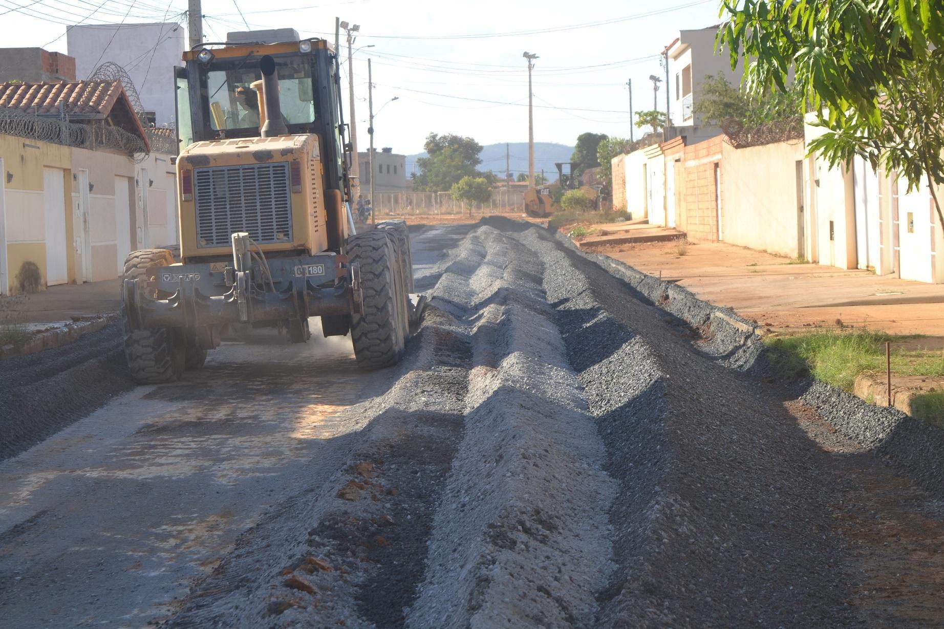 Imagem de destaque Prefeitura intensifica asfalto nos bairros