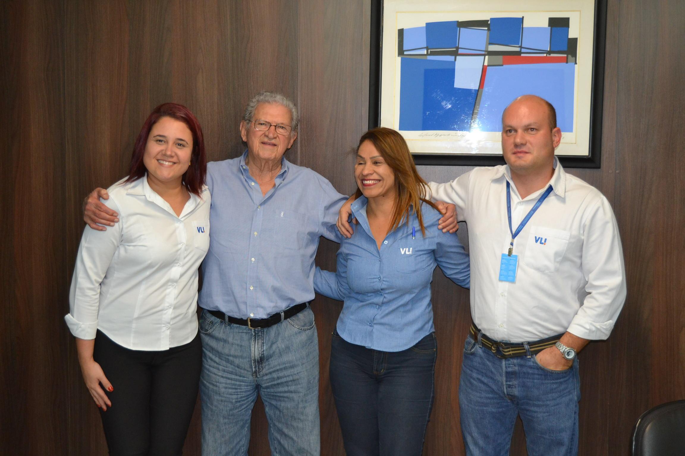 Imagem de destaque Prefeito se reúne com representantes da Ferrovia Centro-Atlântica
