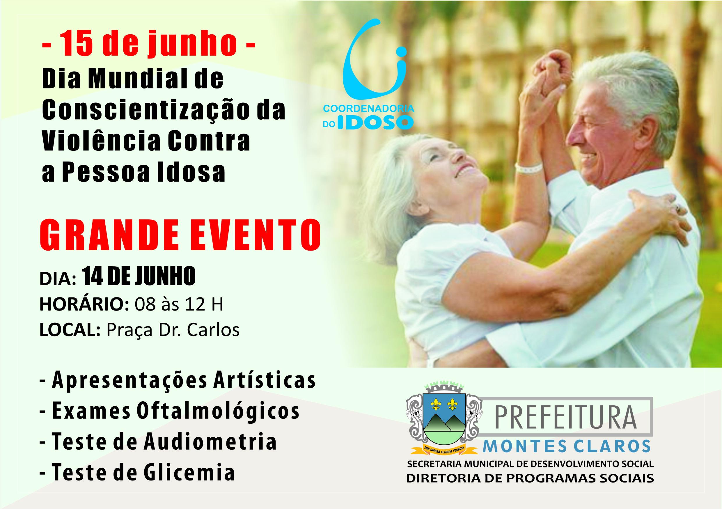 Imagem de destaque Prefeitura realiza evento nesta sexta para combater a violência contra os idosos