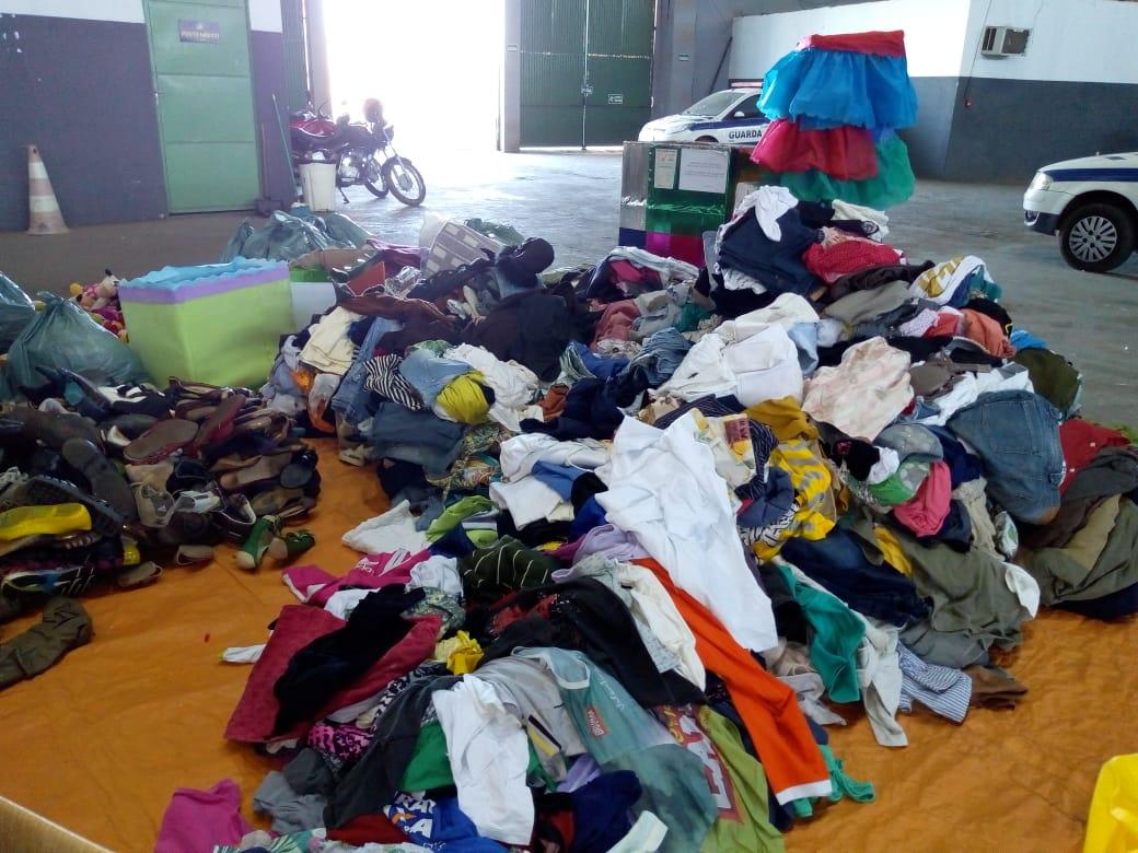 Imagem de destaque CAMPANHA DO AGASALHO 2019 - Prefeitura inicia distribuição dos donativos arrecadados