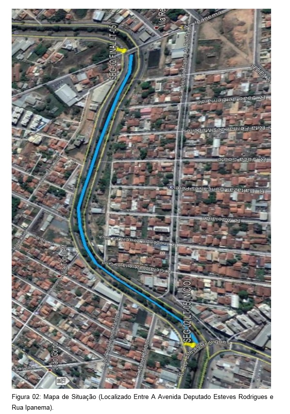 Imagem de destaque Avenidas Sidney Chaves e José Correia Machado - Prefeitura vai reformar o canal do Córrego Vieiras
