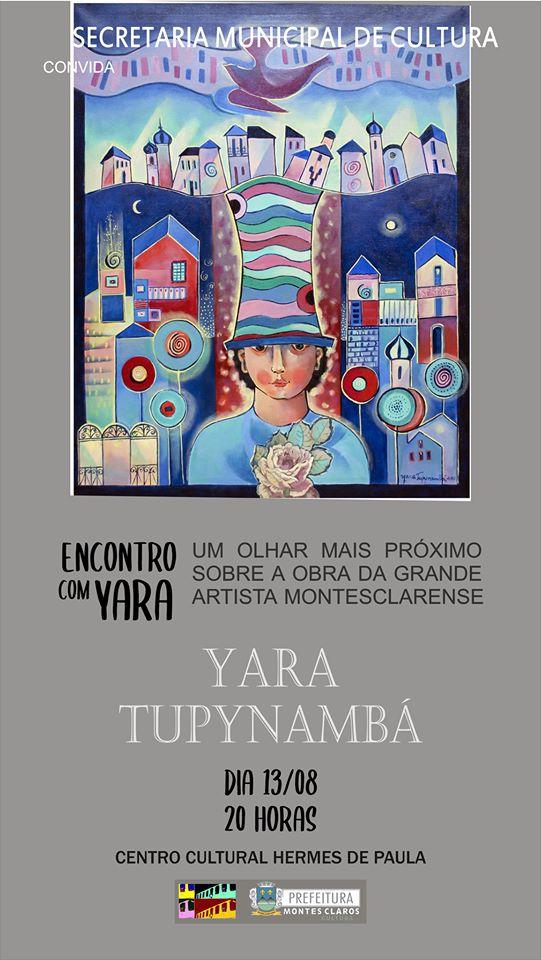 Imagem de destaque Centro Cultural recebe exposição da artista Yara Tupynambá