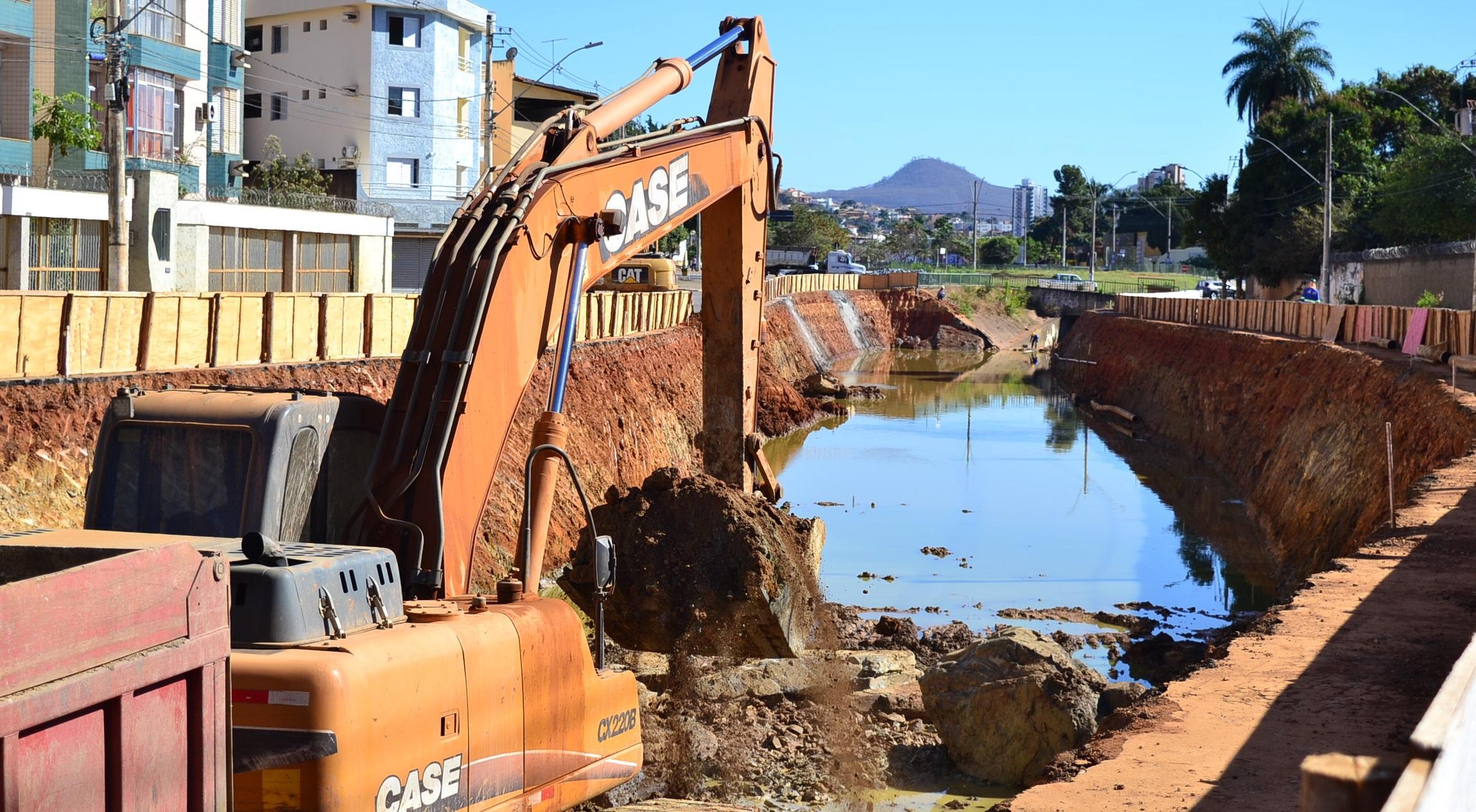 Imagem de destaque Construção da nova avenida Vicente Guimarães segue em ritmo intenso