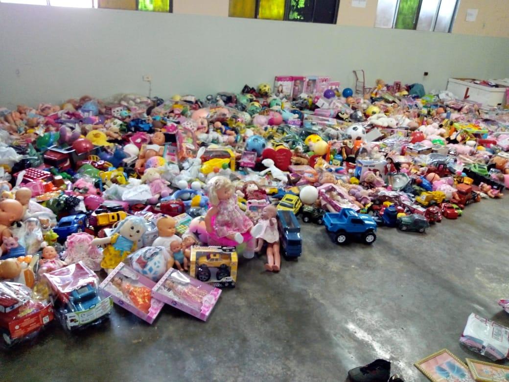 Imagem de destaque ABRA O SORRISO DE UMA CRIANÇA - Primeira distribuição dos donativos arrecadados acontece nesta quarta