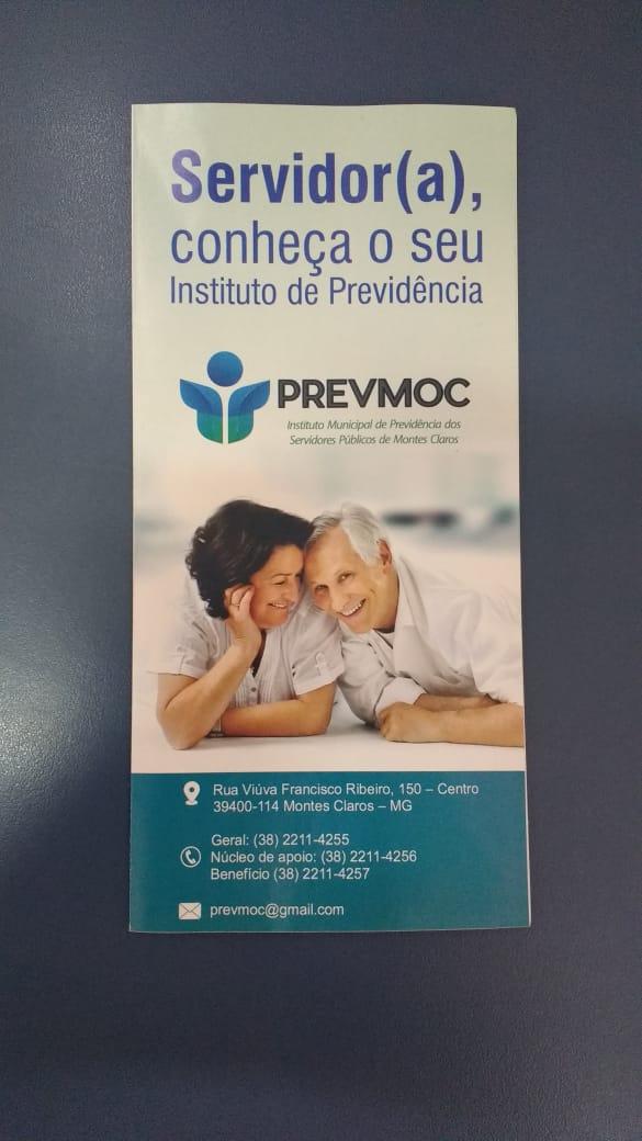 Imagem de destaque Publicação do PREVMOC esclarece o servidor sobre os serviços realizados pelo órgão