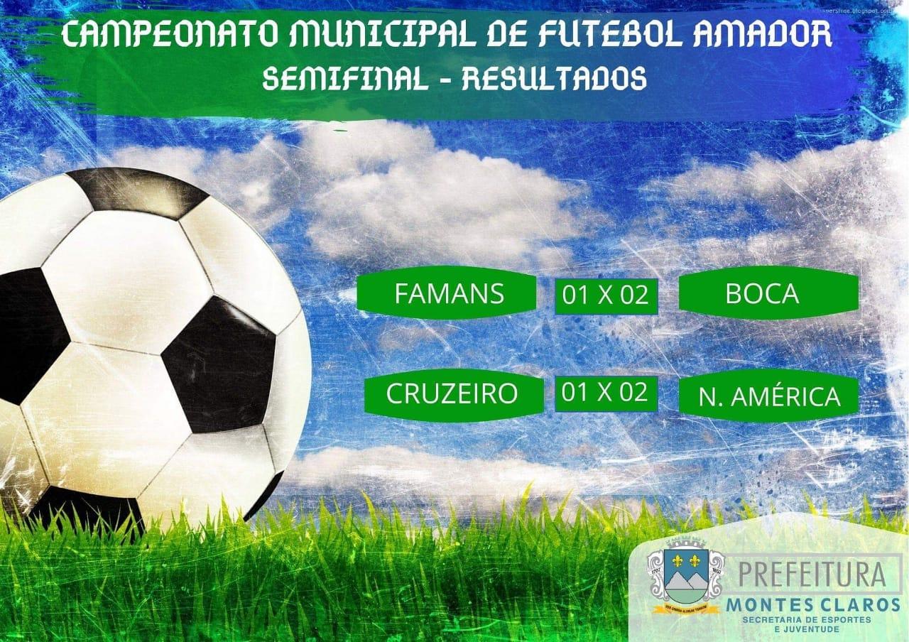 Imagem de destaque CAMPEONATO MUNICIPAL DE FUTEBOL AMADOR  - Jogos de ida da semifinal do torneio foram disputados neste final de semana