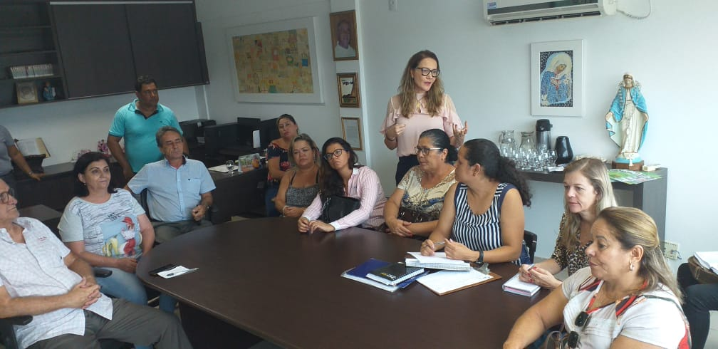 Imagem de destaque Coordenadoria e Conselho Municipal do Idoso visitam Associação Presente