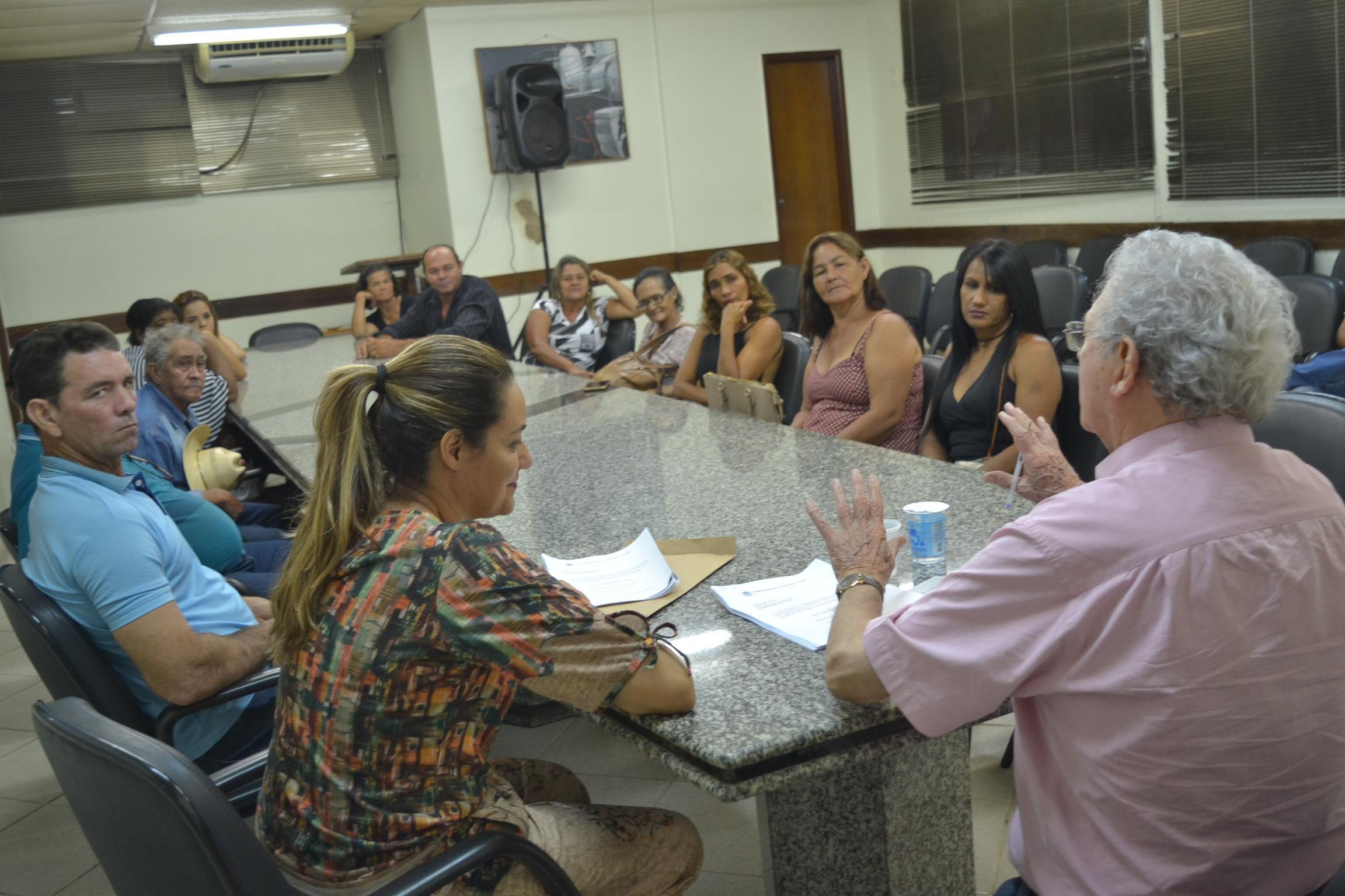 Imagem de destaque Prefeito recebe moradores do São Geraldo ll