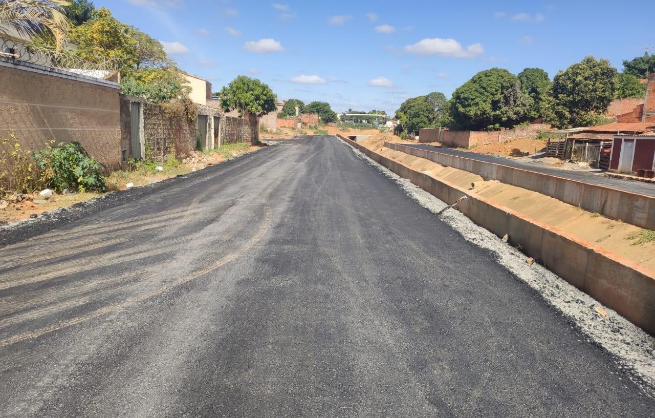 Imagem de destaque Avenida do Córrego do Cintra ganha pavimentação
