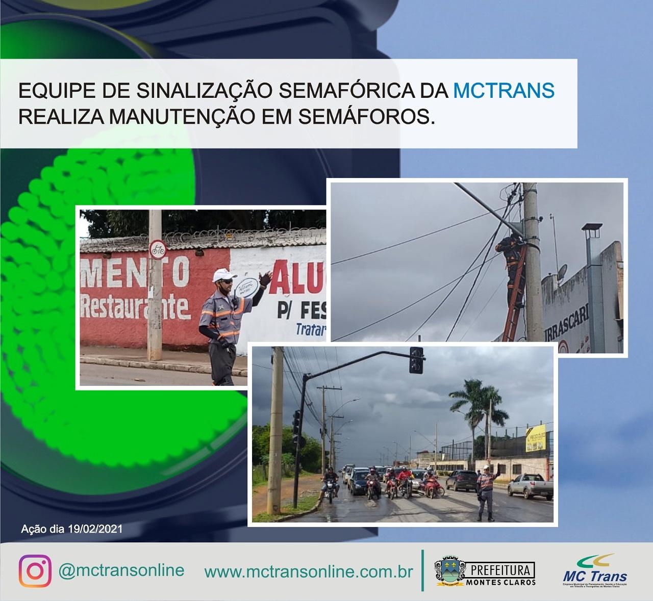 Imagem de destaque MCTrans faz manutenção em semáforos