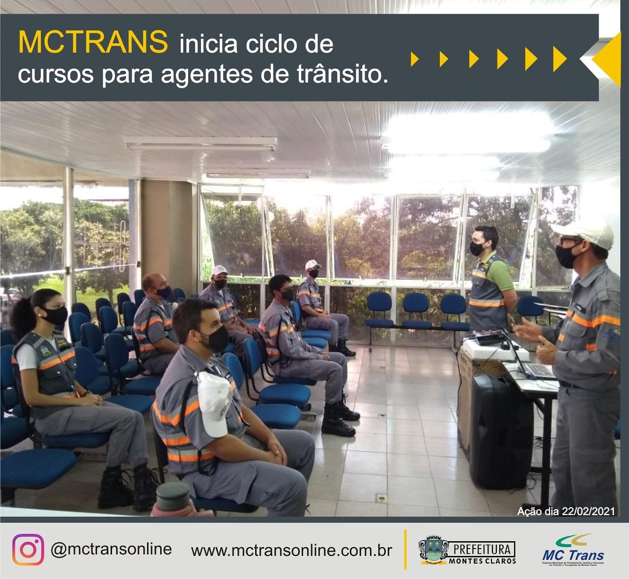 Imagem de destaque MCTrans promove cursos para agentes de trânsito