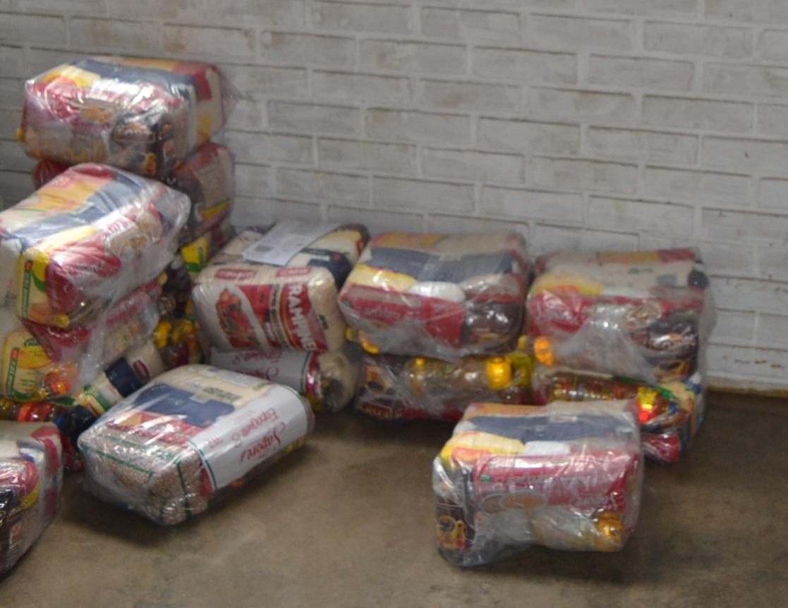 """Imagem de destaque CAMPANHA """"A FOME DÓI"""" - Prefeitura dá início à doação de cestas básicas"""