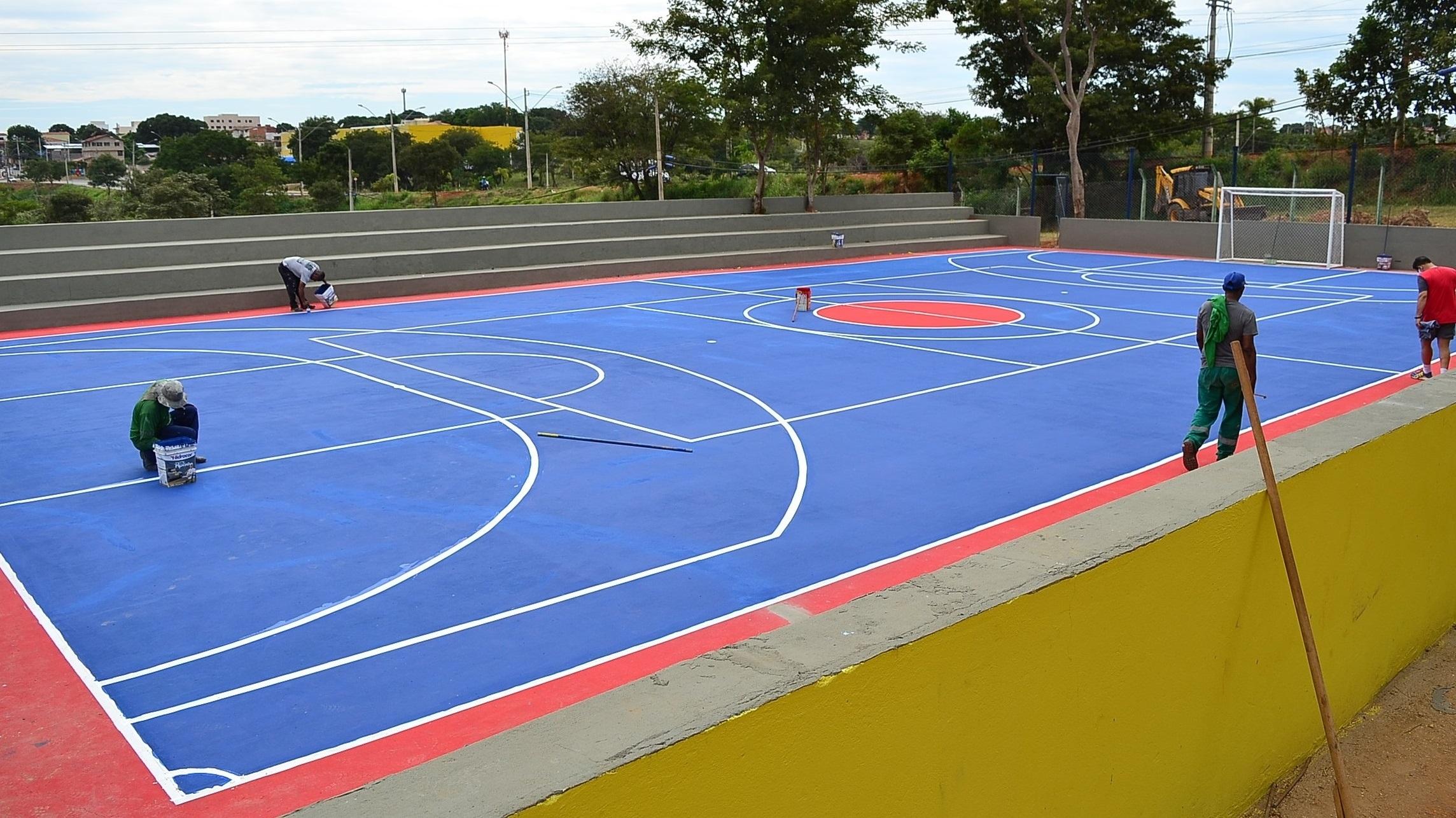 Imagem de destaque Parque Milton Prates ganha quadras de areia e poliesportiva, campinho society e obras de arte