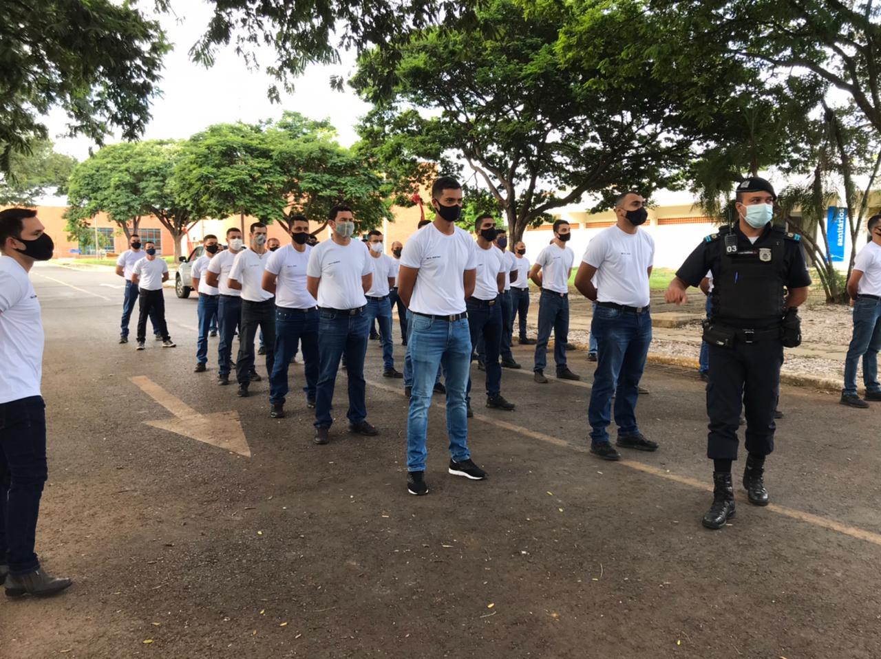 Imagem de destaque Prefeitura empossa novos guardas municipais