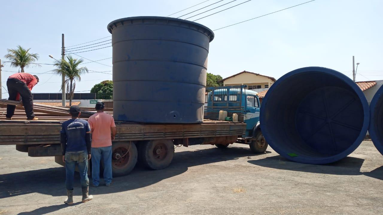 Imagem de destaque CONVIVÊNCIA COM A SECA - Prefeitura de Montes Claros entrega kits de abastecimento de água para as comunidades rurais