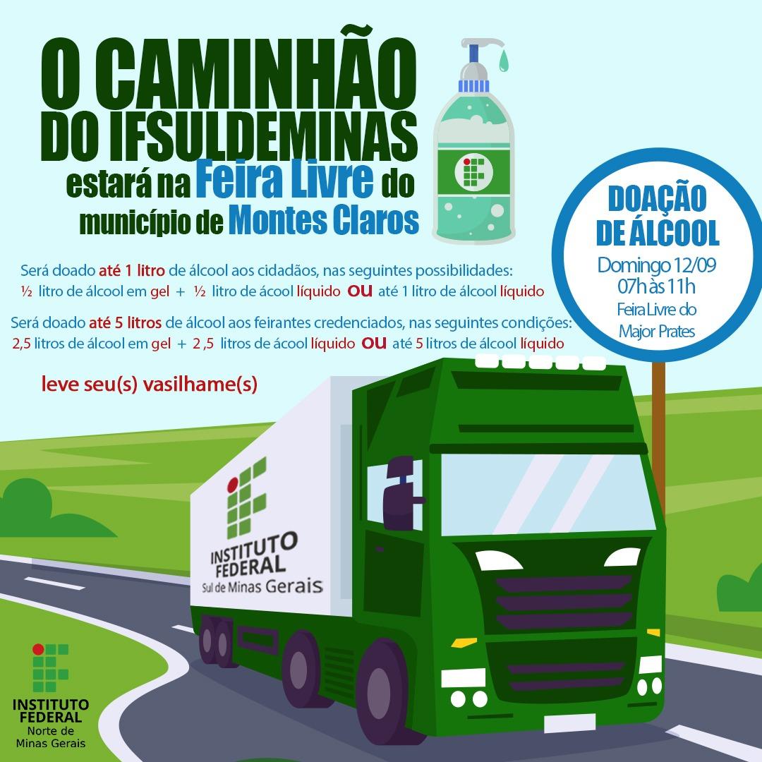 Imagem de destaque COVID-19 - Prefeitura vai distribuir álcool gratuitamente neste domingo, na Feirinha do Major