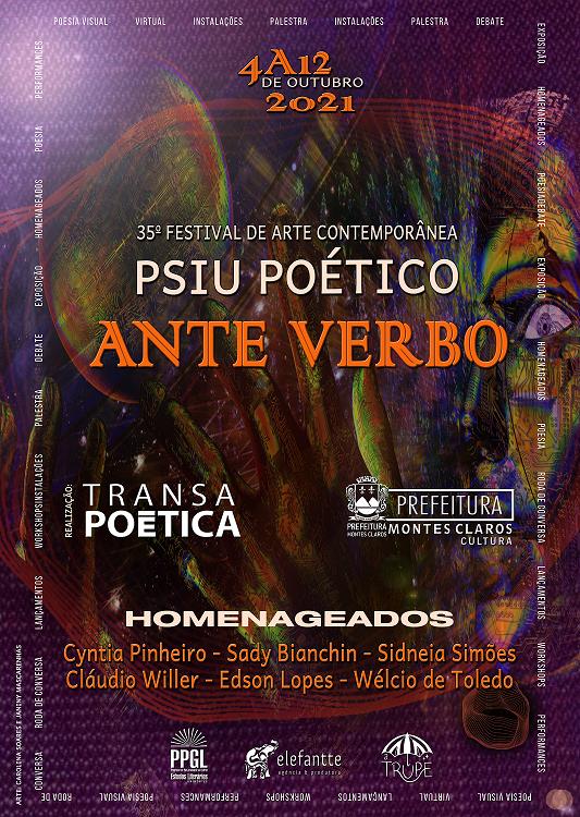 Imagem de destaque ANTEVERBO - Psiu Poético promove BICICLETADA neste domingo