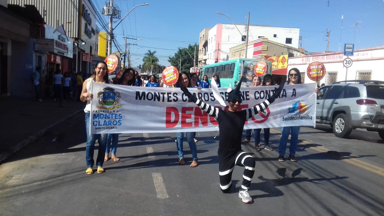 Imagem de destaque SEMANA DA PÁTRIA - Prefeitura realiza passeata contra a dengue no Cidade Nova