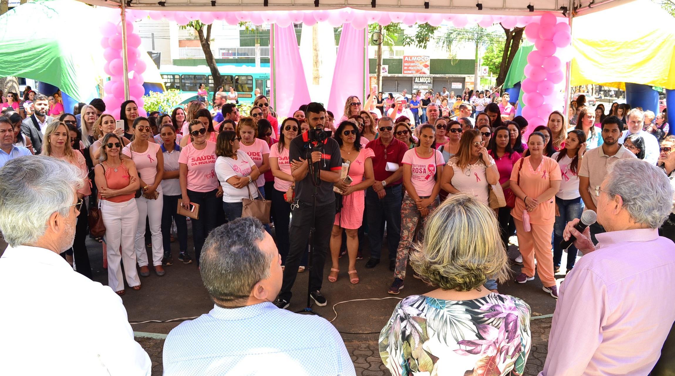 Imagem de destaque OUTUBRO ROSA - Abertura da campanha atrai centenas de pessoas em Montes Claros