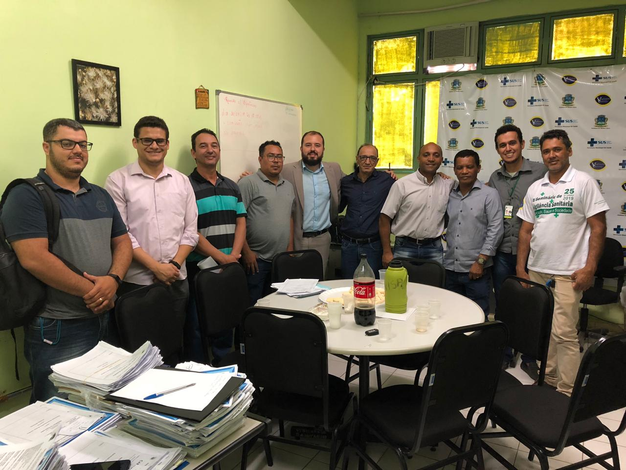 Imagem de destaque Firmada parceria entre a Gerência de Vigilância Sanitária e a Secretaria Municipal de Fazenda