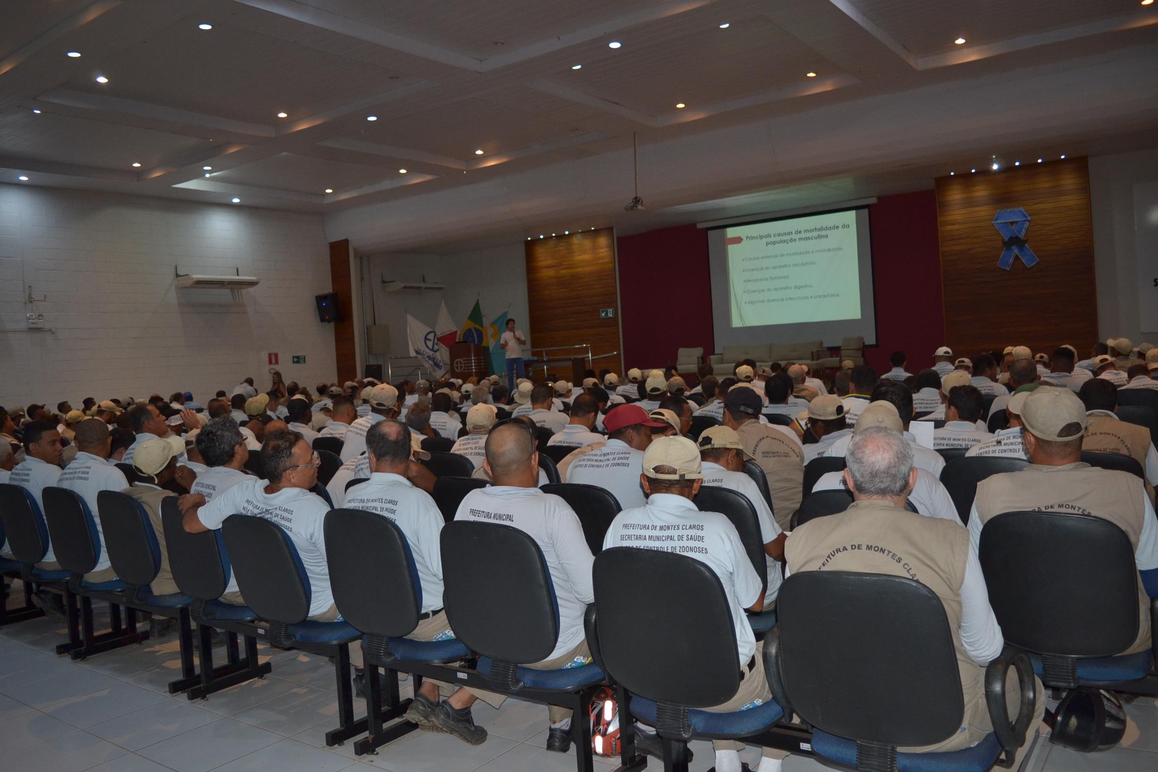 Imagem de destaque NOVEMBRO AZUL - Servidores municipais participam de palestra sobre vida saudável