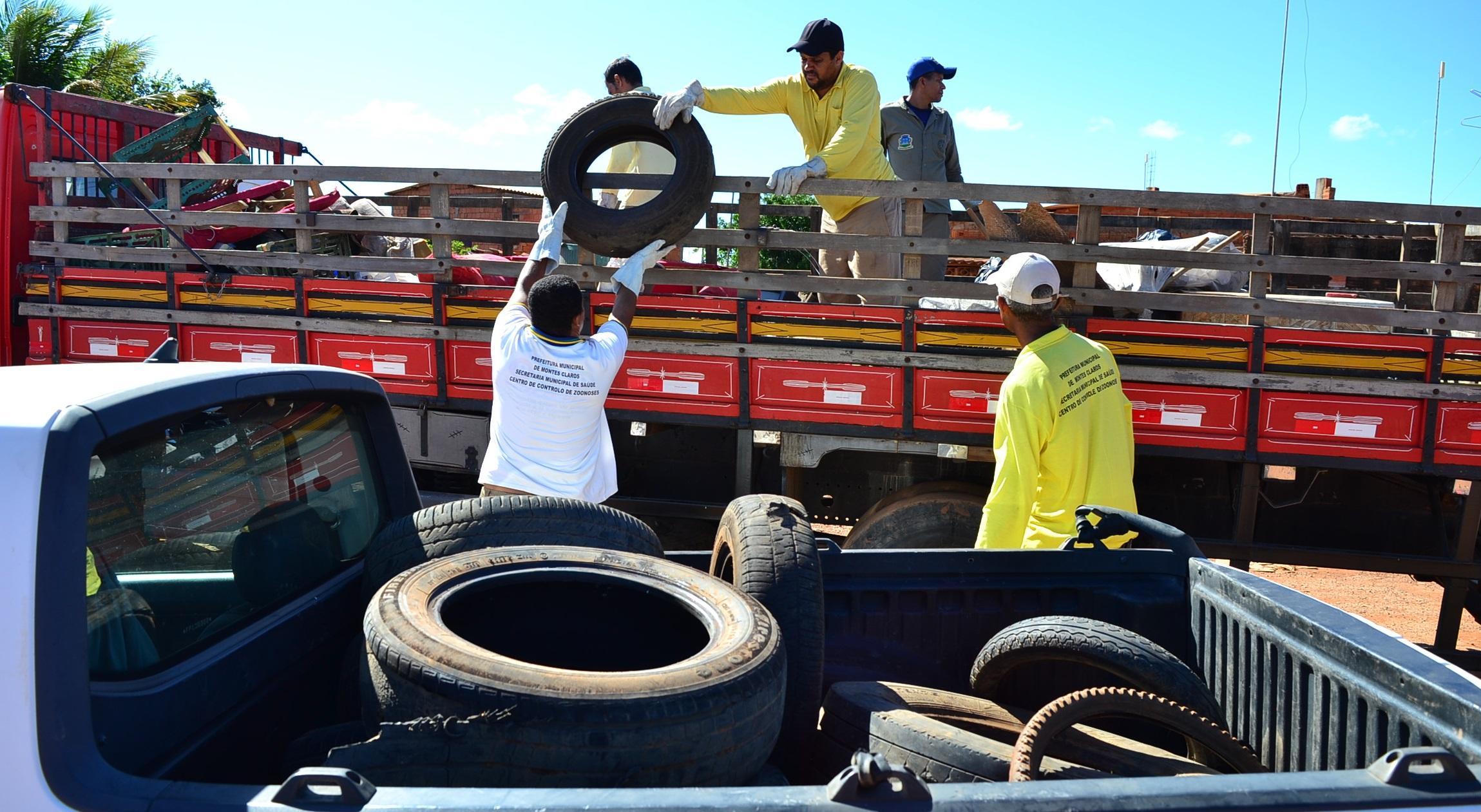Imagem de destaque GUERRA CONTRA O AEDES -  Prefeitura contrata empresa para fazer coleta de pneus