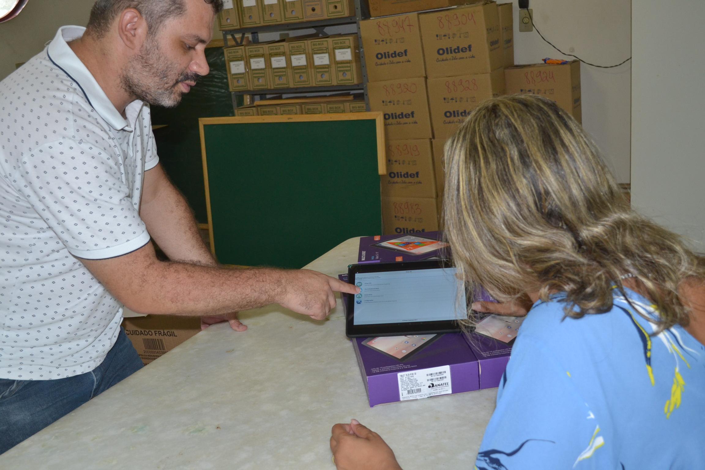 Imagem de destaque TECNOLOGIA E SAÚDE - Montes Claros adquire tablets para as equipes de Saúde da Família