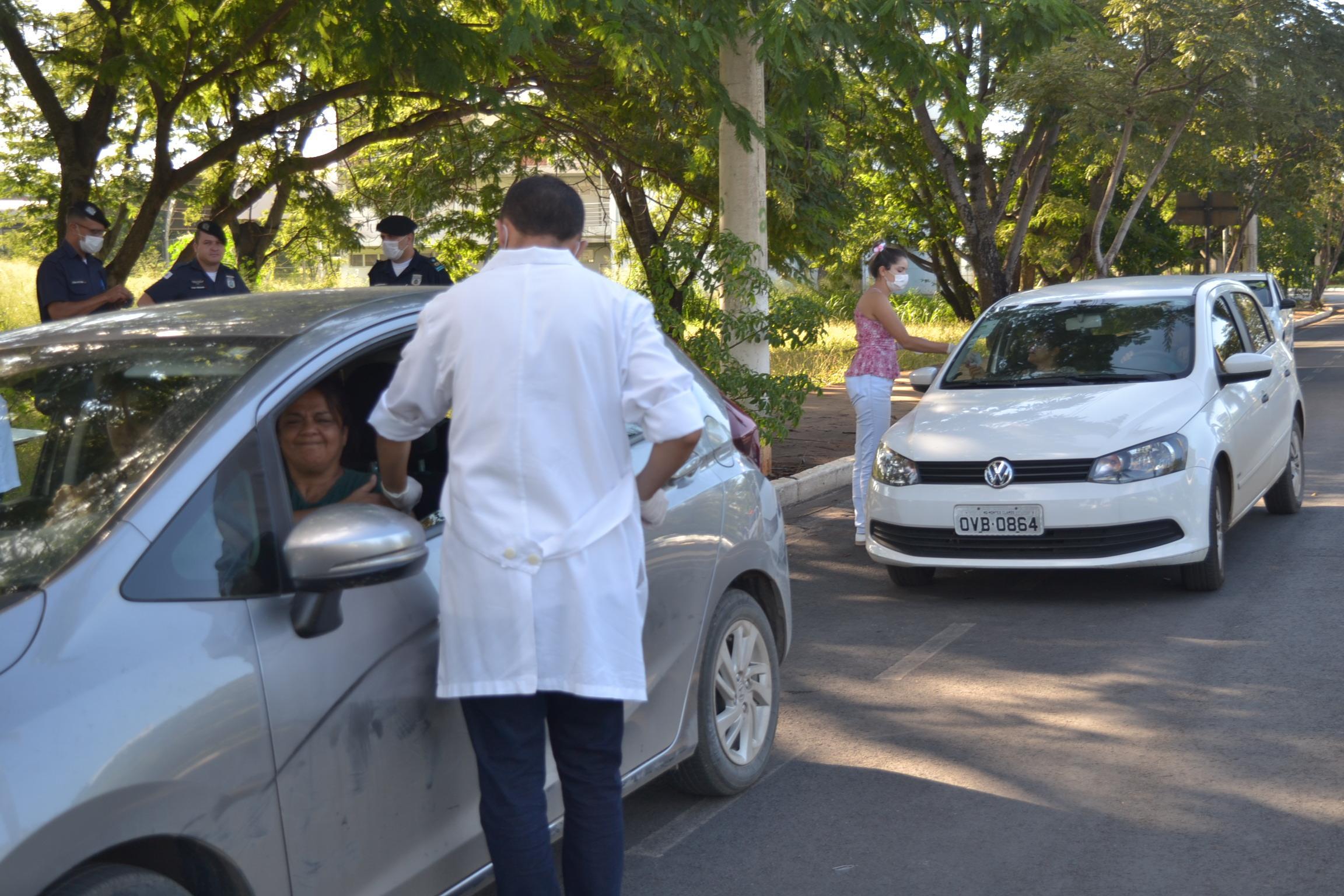 Imagem de destaque VACINAÇÃO CONTRA A GRIPE - Drive thru volta a funcionar na segunda-feira