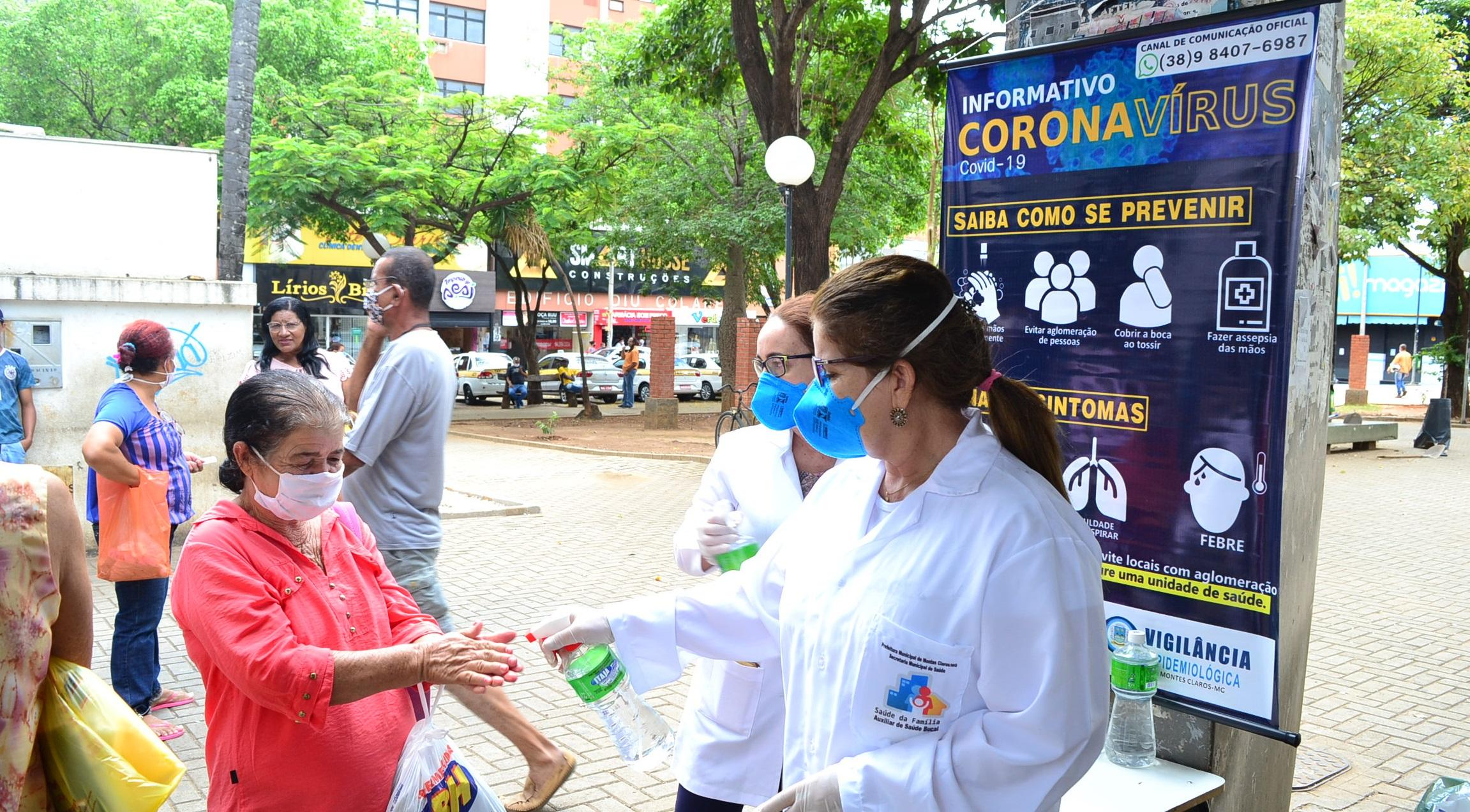 Imagem de destaque COVID-19 -  Prefeitura disponibiliza álcool gratuitamente para a população