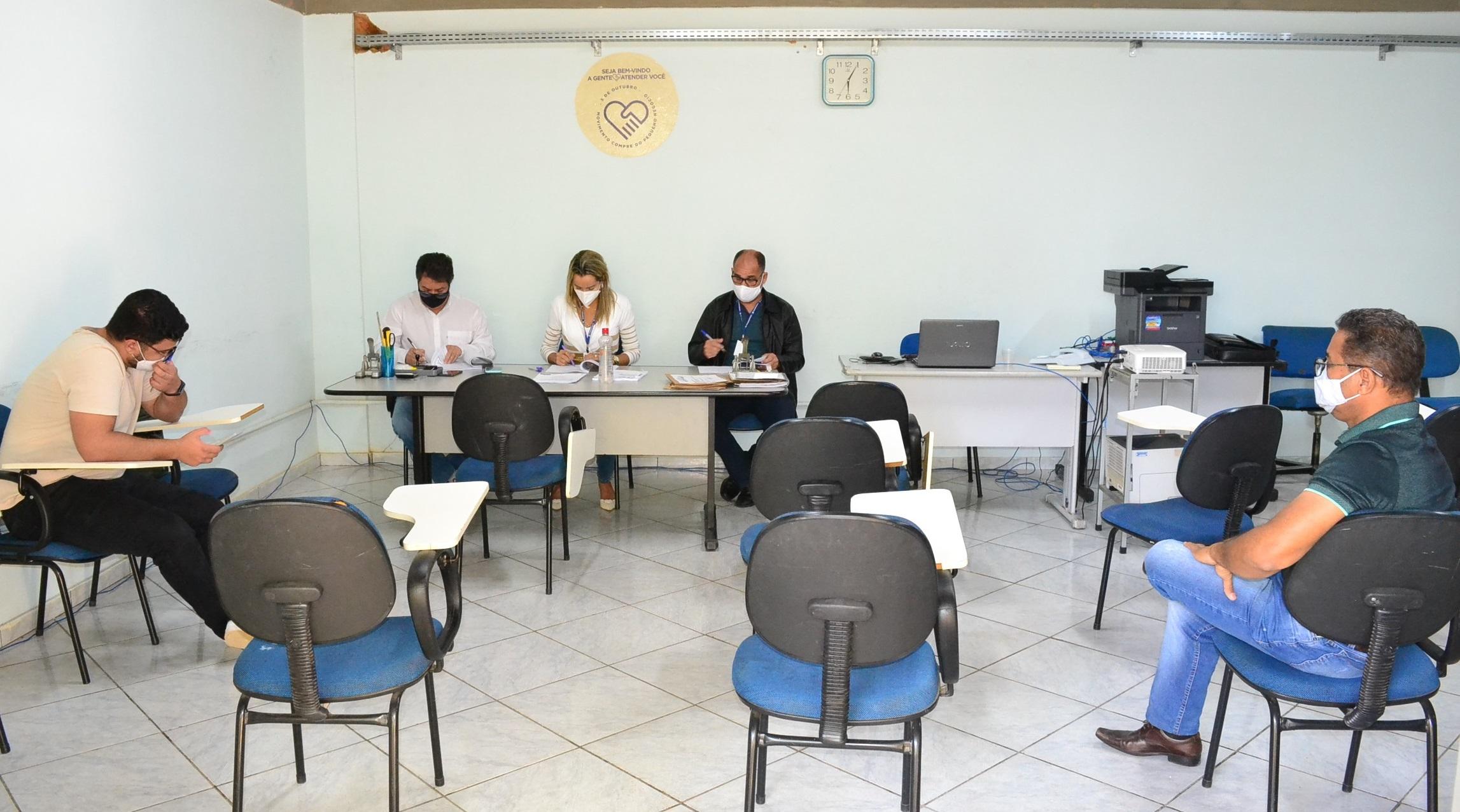 Imagem de destaque REFORMA DO POSTO DE SAÚDE DE SANTA ROSA DE LIMA -  Quatro empresas se apresentam para participar da licitação