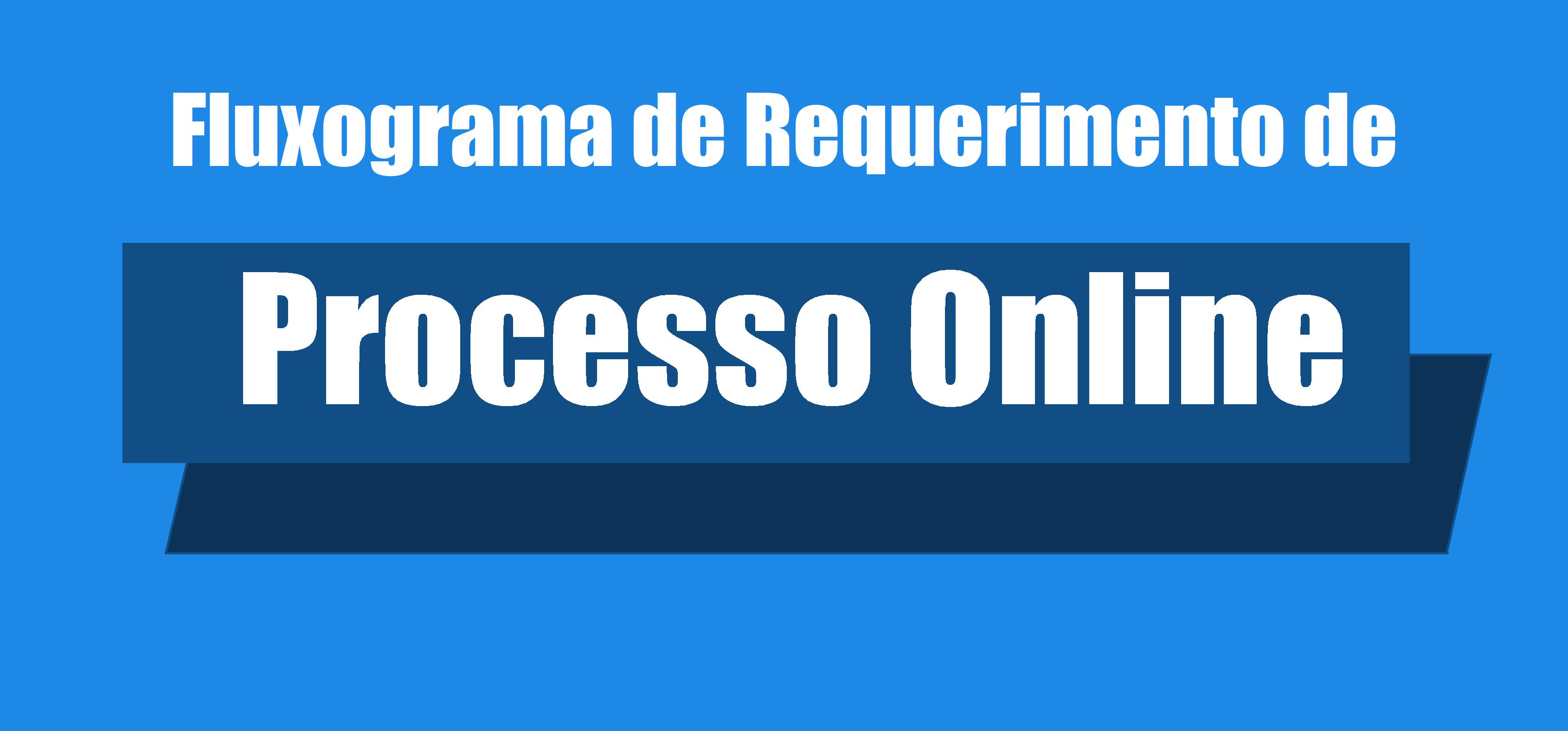 Fluxograma de Requerimento de Processo Online
