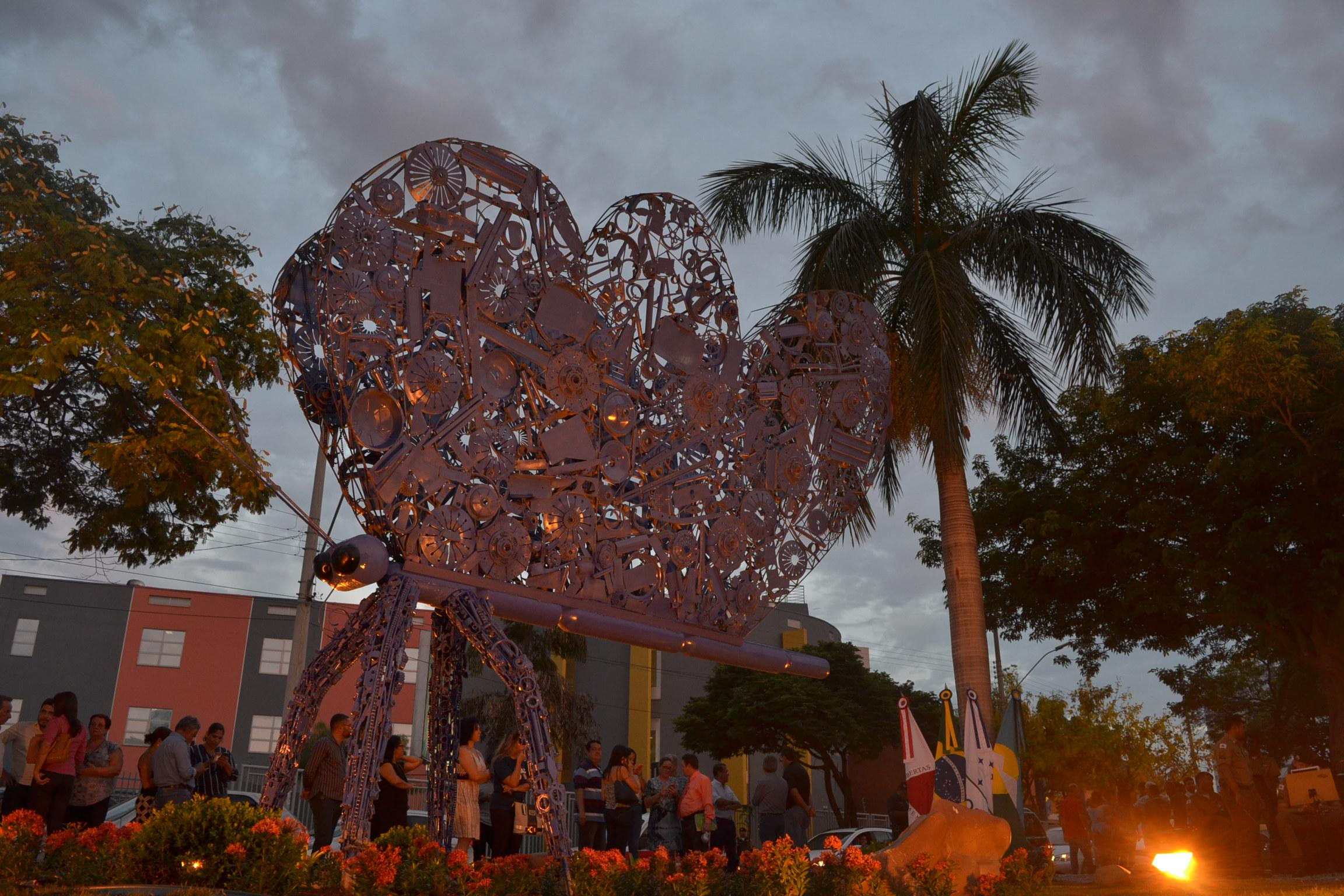 """Imagem de destaque Projeto """"Jardins para Borboletas"""" - Prefeitura homenageia Tonha da Santa Casa"""