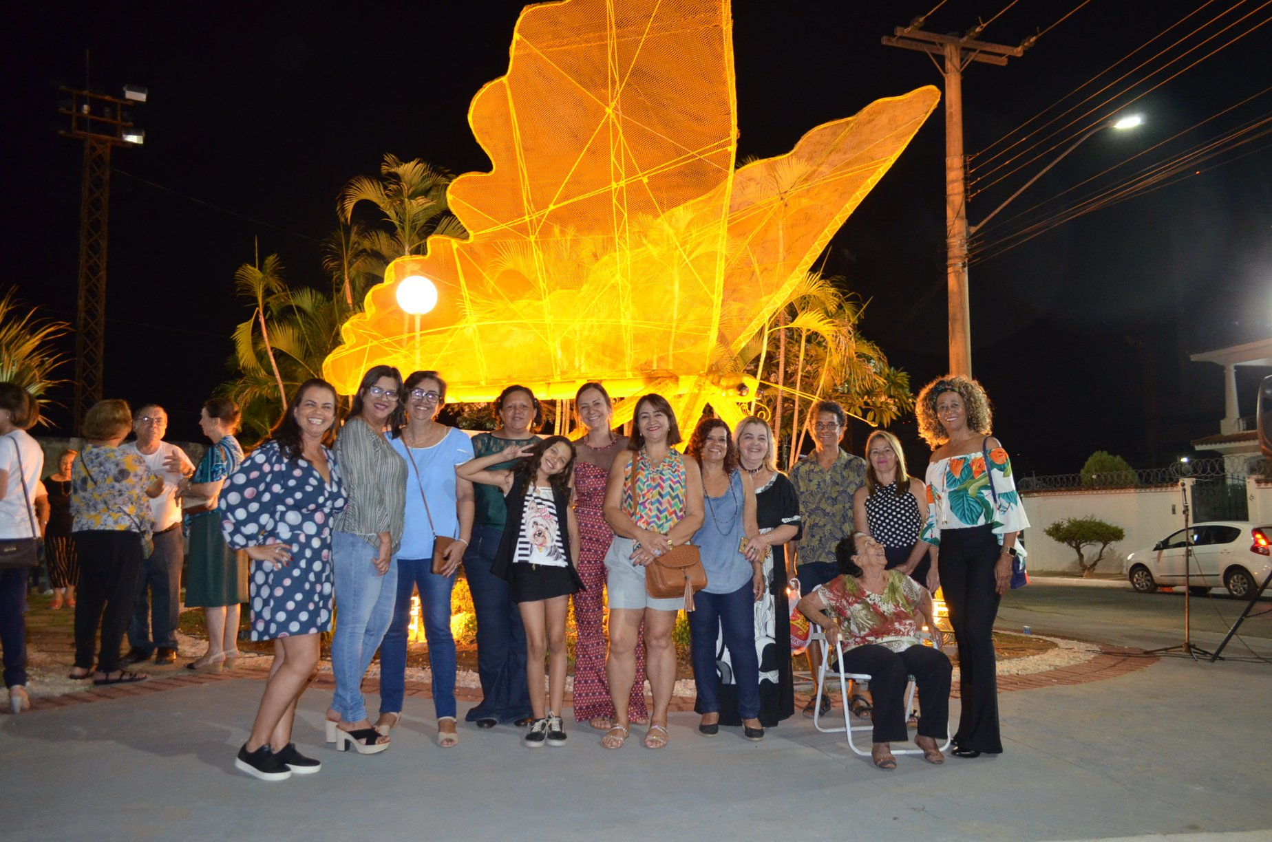 Imagem de destaque JARDIM PARA BORBOLETAS - Homenagem a Yara Souto foi muito prestigiada e praça pode ganhar nome da educadora