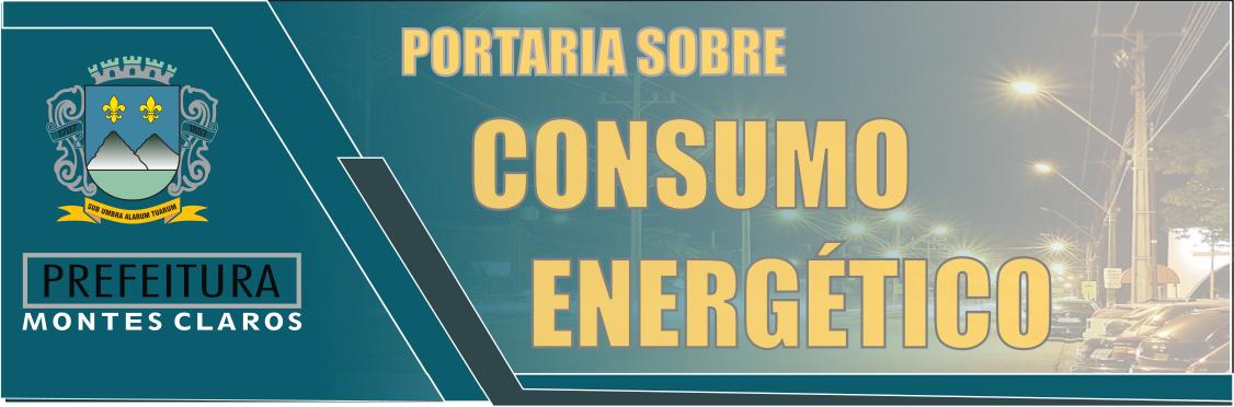 PORTARIA SOBRE O CONSUMO ENERGÉTICO