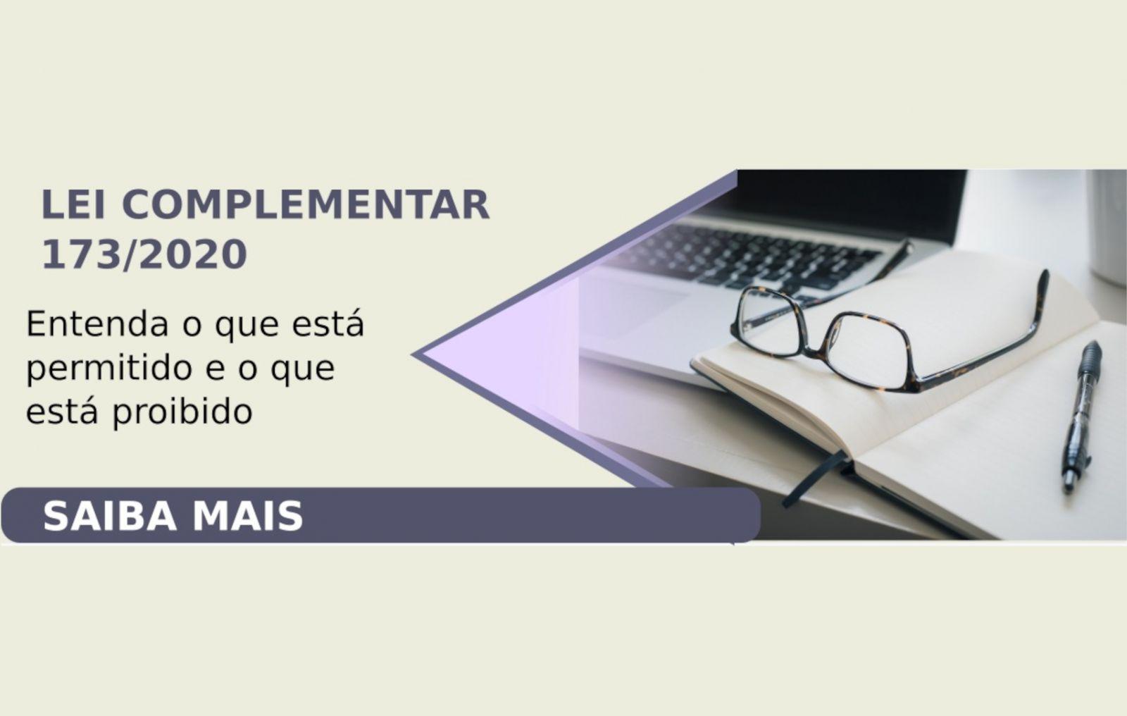 Lei complementar n 173 de 27 de maio de 2020